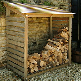 External Wood Storage