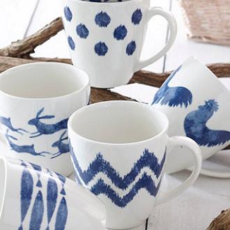 Mugs, Cups & Saucers