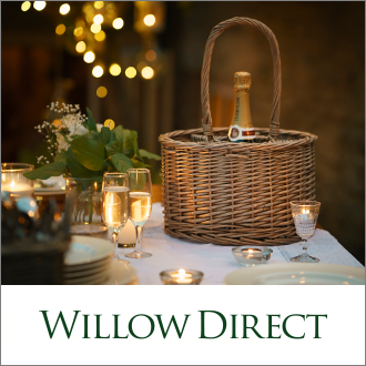 Willow Direct Wicker Log Baskets & Hamper Baskets