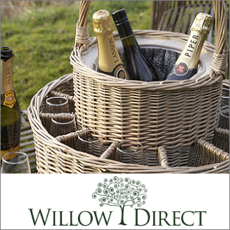 Willow Direct Wicker Log Baskets & Hamper Baskets