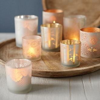 Candles Lanterns & Tea Lights