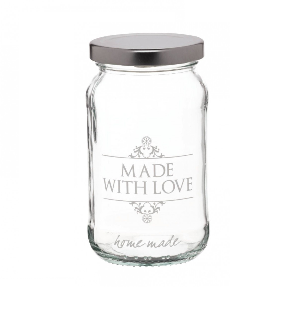 Made with Love Jam Jar
