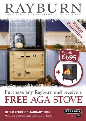 Rayburn promotion free AGA Stove