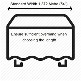 Measuring Table Cloth