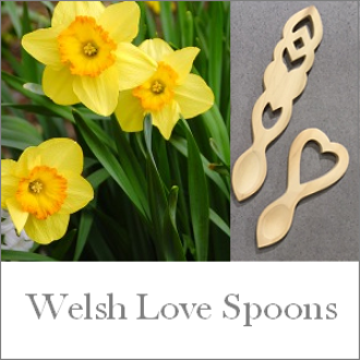 Welsh Love Spoons